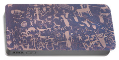 Ancient Carvings Portable Battery Charger