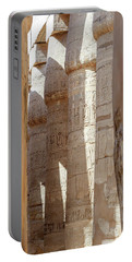 Portable Battery Charger featuring the photograph Ancient Egypt by Silvia Bruno