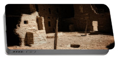 Portable Battery Charger featuring the photograph Ancient Sanctuary by Kurt Van Wagner