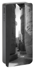 Portable Battery Charger featuring the photograph Ancient Silence by Silvia Bruno