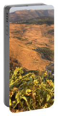 Portable Battery Charger featuring the photograph Andalucian Golden Valley by Ian Middleton