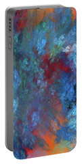 Andee Design Abstract 1 2017 Portable Battery Charger by Andee Design