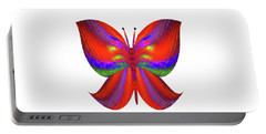 Portable Battery Charger featuring the digital art Andee Design Abstract 2 2015 by Andee Design