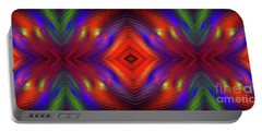 Portable Battery Charger featuring the digital art Andee Design Abstract 3 2015 by Andee Design
