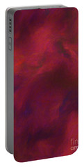 Portable Battery Charger featuring the digital art Andee Design Abstract 50 2017 by Andee Design