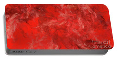 Portable Battery Charger featuring the digital art Andee Design Abstract 6 2015 by Andee Design