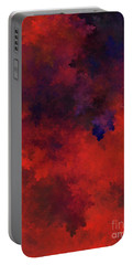 Portable Battery Charger featuring the digital art Andee Design Abstract 73 2017 by Andee Design
