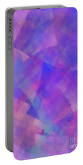 Portable Battery Charger featuring the digital art Andee Design Abstract 75 2017 by Andee Design