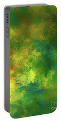 Portable Battery Charger featuring the digital art Andee Design Abstract 78 2017 by Andee Design