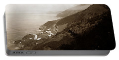 Anderson Creek Labor Camp Big Sur April 3 1931 Portable Battery Charger