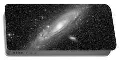 Andromeda Galaxy Portable Battery Charger