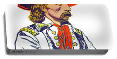 Andy Warhol, General Custer, Cowboys And Indians Series Portable Battery Charger