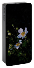 Anemone At Sunrise Portable Battery Charger