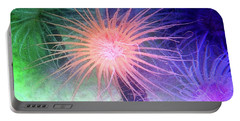 Portable Battery Charger featuring the photograph Anemone Color by Anthony Jones
