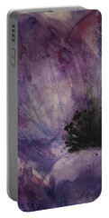 Anemone Portable Battery Charger by Marna Edwards Flavell