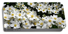 Portable Battery Charger featuring the photograph Anemone Profusion by Will Borden