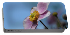 Anemone Tomentosa Flower Portable Battery Charger