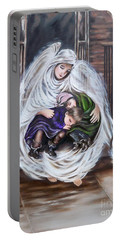Flying Lamb Productions.        Angel And The Orphans Portable Battery Charger
