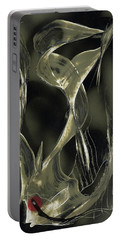 Angel Fish Abstract Portable Battery Charger