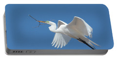 Portable Battery Charger featuring the photograph Angel In Flight by Fraida Gutovich