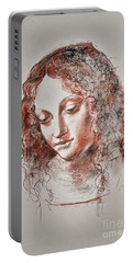 Angel Madonna Portable Battery Charger