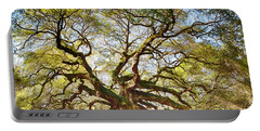 Angel Oak In Spring Portable Battery Charger