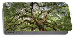 Angel Oak Tree Of Life Portable Battery Charger