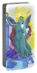 Angel, Victory Is Now Portable Battery Charger by Amara Dacer