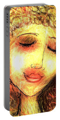 Angela Portable Battery Charger by Elaine Lanoue