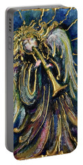 Angelic Song Portable Battery Charger by Rae Chichilnitsky