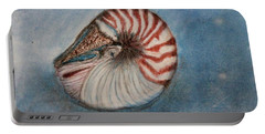 Angel's Seashell  Portable Battery Charger by Kim Nelson