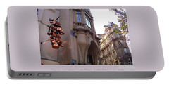 Angles And Details At Place Saint Andre Des Arts Poster Portable Battery Charger by Felipe Adan Lerma