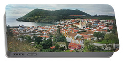Angra Do Heroismo And Monte Brasil, Terceira Island Portable Battery Charger