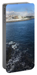 Portable Battery Charger featuring the photograph Angra Do Heroismo, Azores by Kelly Hazel