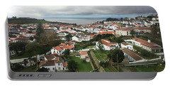 Portable Battery Charger featuring the photograph Angra Do Heroismo, Terceira by Kelly Hazel