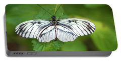 Angry Butterfly With A Mustache Portable Battery Charger