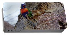 Angry Lorikeet Portable Battery Charger