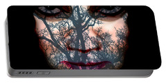 Portable Battery Charger featuring the photograph Angry Monster #4 by Barbara Tristan