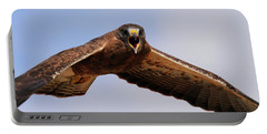Angry Swainson's Hawk Portable Battery Charger