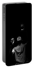 Portable Battery Charger featuring the photograph Anguish by Eric Christopher Jackson