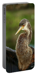 Anhinga Close-up #2 Portable Battery Charger by Tom Claud