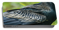 Anhinga Feathers Portable Battery Charger