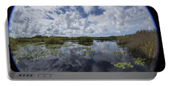 Anhinga Trail 86 Portable Battery Charger by Michael Fryd