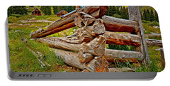 Animas Forks Log Cabin Portable Battery Charger