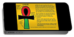 Ankh Meaning Portable Battery Charger