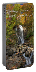 Portable Battery Charger featuring the photograph Anna Rby Falls 3 by Penny Lisowski