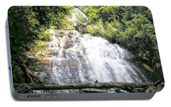 Portable Battery Charger featuring the photograph Anna Ruby Falls by Jerry Battle