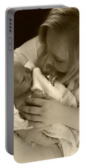 Annah With Newborn  Portable Battery Charger
