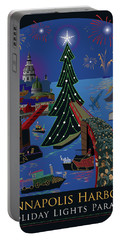 Annapolis Holiday Lights Parade Portable Battery Charger