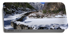 Portable Battery Charger featuring the photograph Annapurna Circuit Trail by Aidan Moran